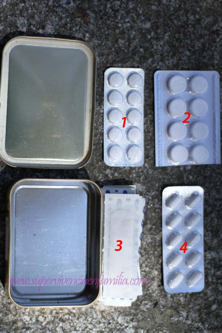Caja de Medicinas Botiquin Emergencia Coche