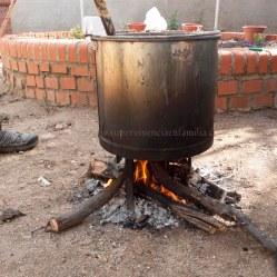 Jabon Casero al fuego