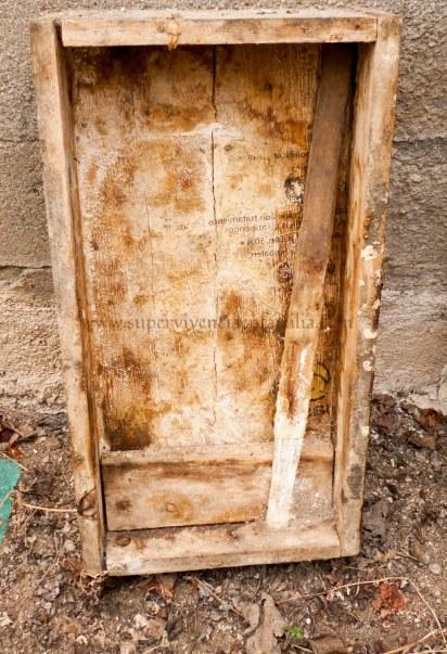 Jabon Casero cajon de madera