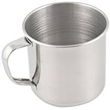 Vaso metalico